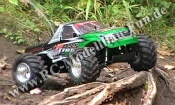RC Modellbau Monstertruck Reely Cross Tiger 1/10 4WD RTR im Gelände