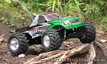 RC Monstertruck Reely Cross Tiger Test mit Video