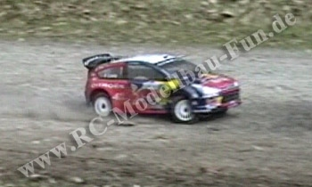 Ferngesteuertes Verbrenner Rally RC Auto Kyosho DRX Citroen C4 WRC 1:9 4WD RTR