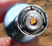 Glühende RC Modellbau Glühkerze für Nitro Verbrenner Motor