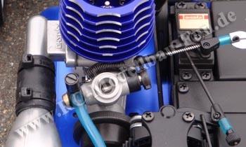 Modellbau Verbrenner Motoren einfahren