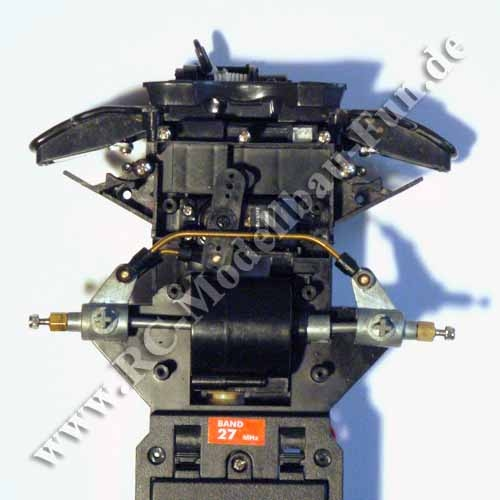 RC Unimog Dickie U300 Lenkung Umbau